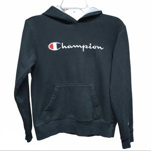 Champion hoodie size youth L